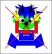 Angry-SOFUS, Storytelling motif,                           Storytelling and Fairy Tale Days - my art work                           combined with storytelling, my Children's                           Books Online, Children's Coloring Books Online                           and my universe of storytelling and fairy tale                           motifs. By Asbjorn Lonvig, Danish artist,                           designer, storyteller, writer.