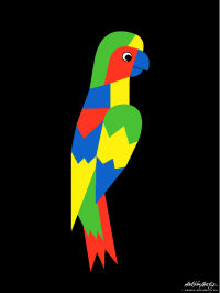 Parrot - Art Gallery Support - Art Gallery Selection - Asbjorn Lonvig