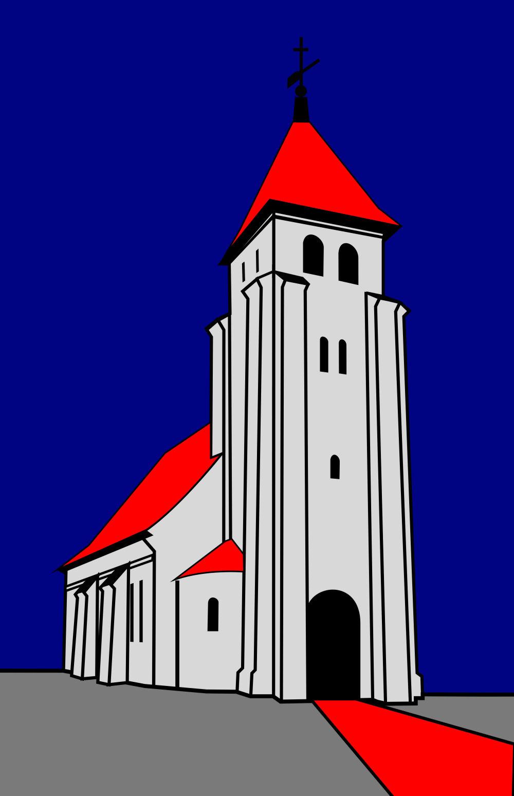 gotisk kirke plantegning