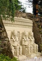 Legoland, Entrance to Abu Simbel, Egypt, Asbjorn Lonvig