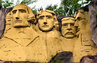 Legoland, Mount Rushmore National Monument, South Dakota, USAMount Rushmore National Monument, South Dakota, USAMount Rushmore National Monument, South Dakota, USA, Asbjorn Lonvig