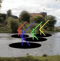 Legoland, Kolding Castle lake sailing sculpture, Asbjorn Lonvig