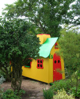 Sculptural playhouse for children by Morten and Asbjorn Lonvig - inspired by Antoni Gaudi, Barcelona, Spain