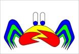 crab-mac-claw, crab, rome, venice, fairy tale, asbjorn lonvig, lonvig