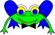 Frederic's Father                                                           from Online                                                           Coloring book                                                           Frederic the                                                           frog and Elias                                                           the elephant.                                                           Main character                                                           in tje LUCCA                                                           project. By                                                           Asbjorn                                                           Lonvig, Danish                                                           designer and                                                           fairy tale                                                           writer.