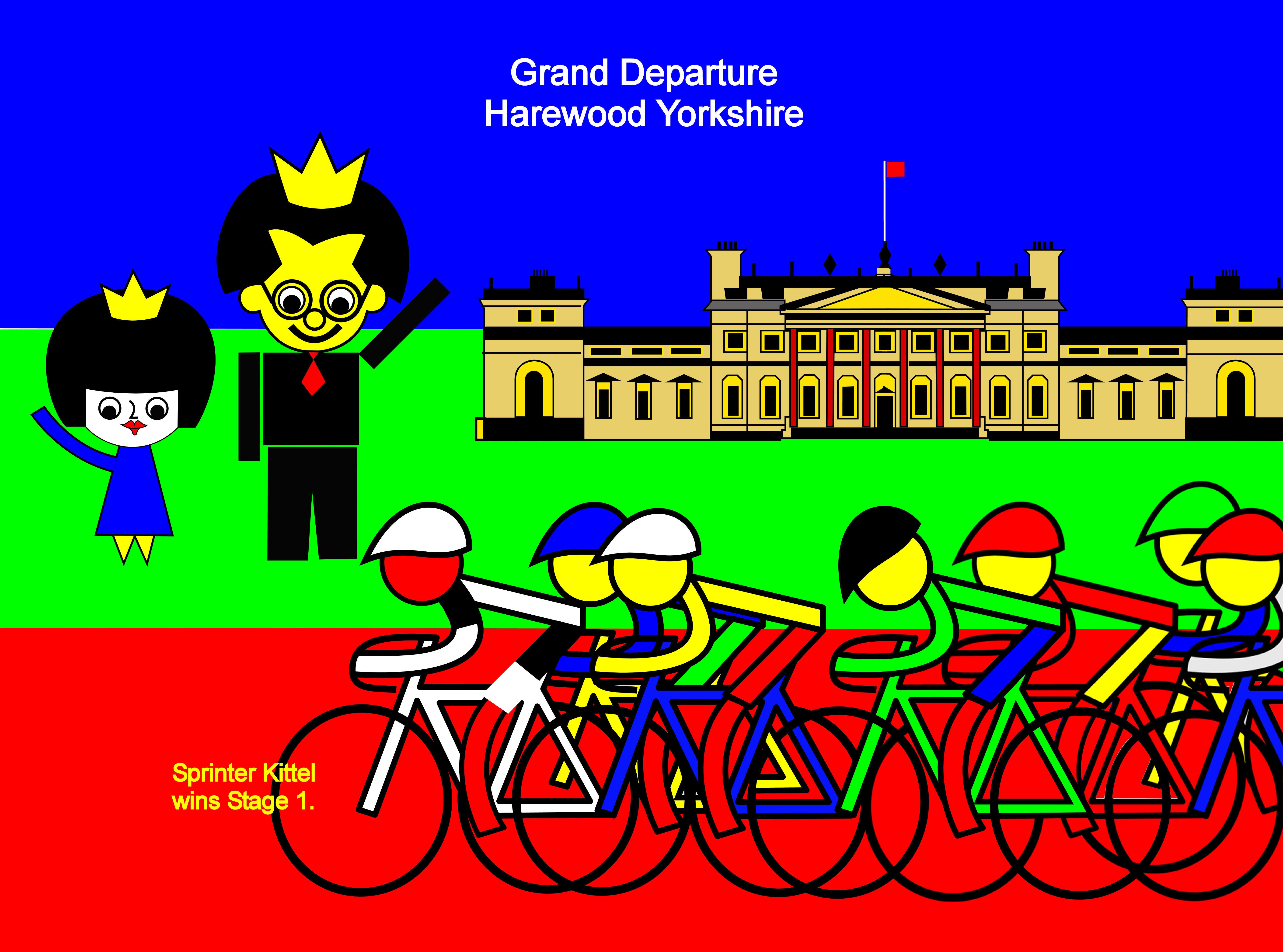 Leeds, Harrogate, Grand                                     Departure, Harewood, Yorkshire,                                     Sprinter, Kittel, Stage 1, July 5th,                                     Tour de France 2014, Tour de France,                                     Leeds, Harrogate, le Grand Départ,                                     Harewood, Yorkshire, Sprinter,                                     Kittel, étape 1, 5 Juillet, Tour de                                     France 2014, Tour de France