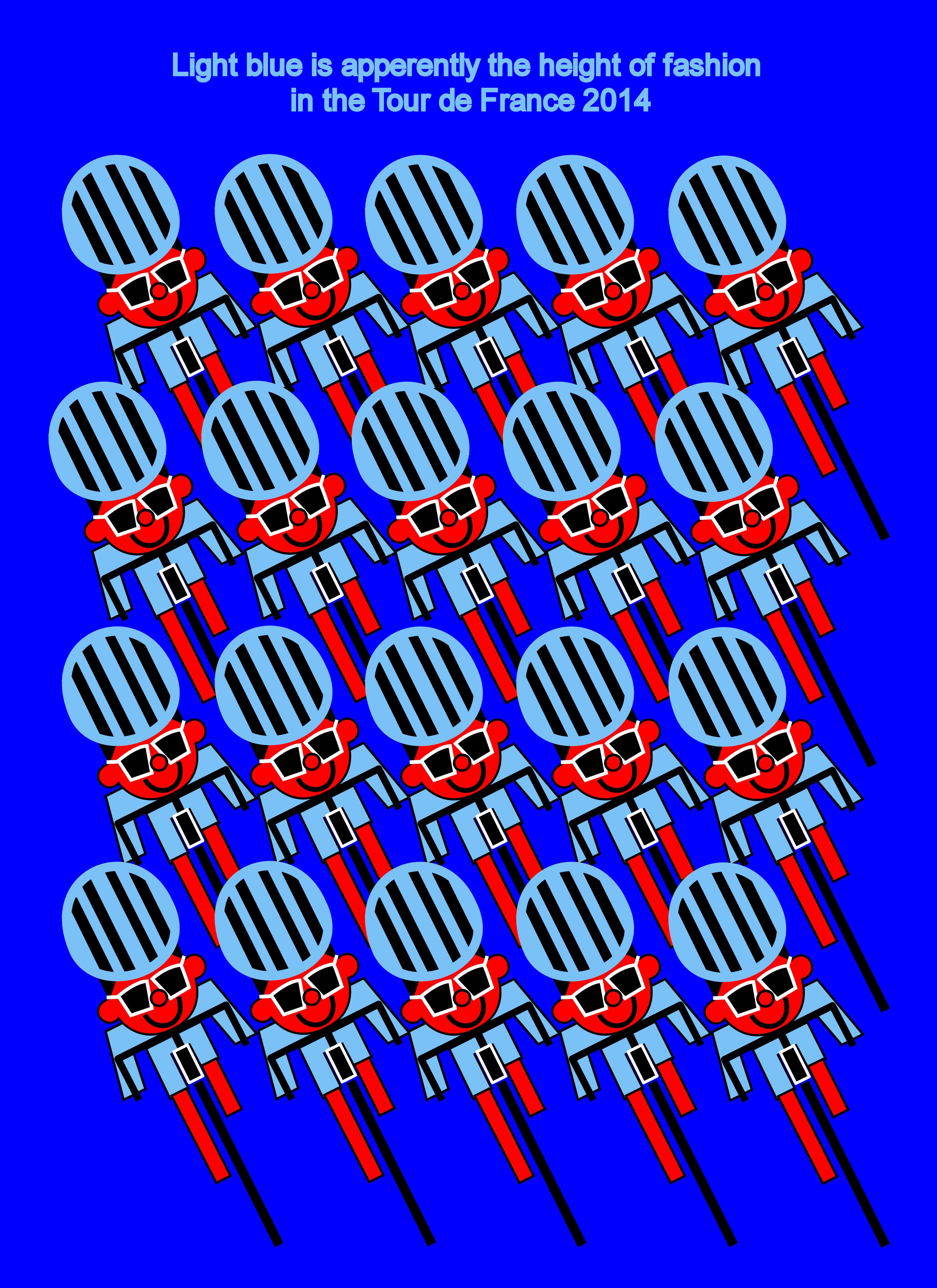 Carcassonne,                                               Bagnères-de-Luchon, light                                               blue, hight of fashion,                                               stage 16, July 22nd, Tour                                               de France 2014, Tour de                                               France, Carcassonne,                                               Bagnères-de-Luchon, bleu                                               clair, hauteur de la mode,                                               étape 16, le 22 Juillet,                                               Tour de France 2014, Tour                                               de France