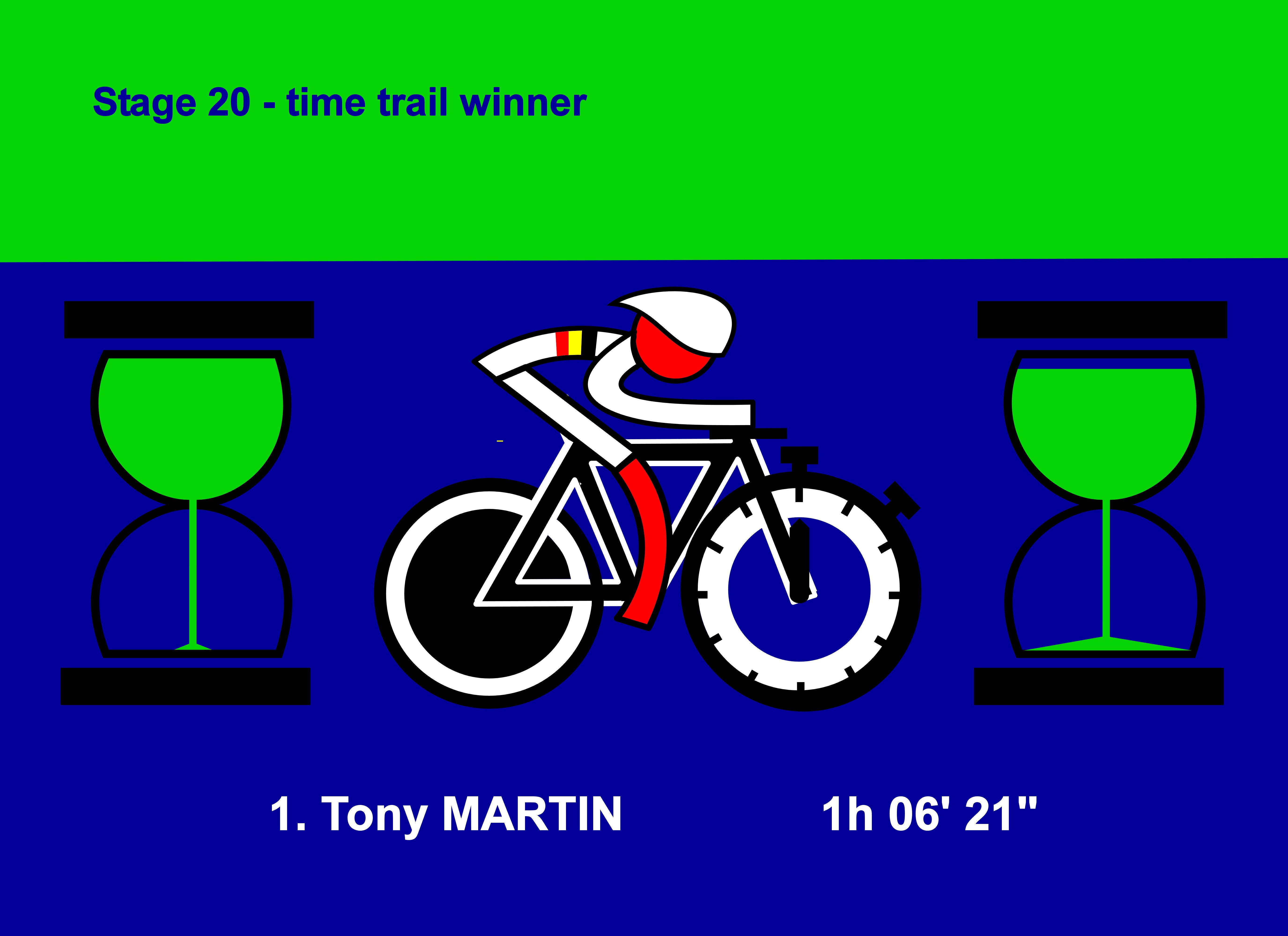 """Bergerac, Périgueux, time                                       trial, Stage 20, July 26th, Tony                                       MARTIN, 1h 06' 21"""", Tour de                                       France 2014, Tour de France,                                       Bergerac, Périgueux, piste de                                       temps, l'étape 20, le 26 Juillet,                                       Tony MARTIN, 1h 06 '21 """",                                       Tour de France 2014, Tour de                                       France"""