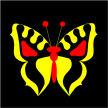 yellow butterfly, butterfly, asbjorn lonvig, lonvig