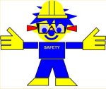Safety-SOFUS. Part of a modern working environment is safety. Storytelling implementing corporate values. By storyteller and designer Asbjorn Lonvig, Denmark.